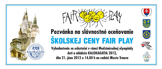 Pozvanka fair play